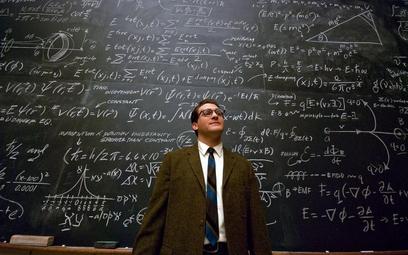 Larry Gopnik (Stuhlbarg), wykładowca fizyki na niewielkim uniwersytecie w Minneapolis, prowadzi spok
