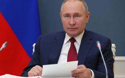 Kiedy zaszczepi się Putin? Kreml: Powie, gdy to zrobi