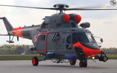 Wielozadaniowy śmigłowiec poszukiwawczo-ratowniczy W-3WARM Anakonda (0906) to ostatnia z ośmiu Anako