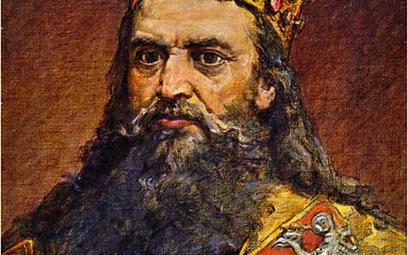 Kazimierz Wielki, malował Jan Matejko