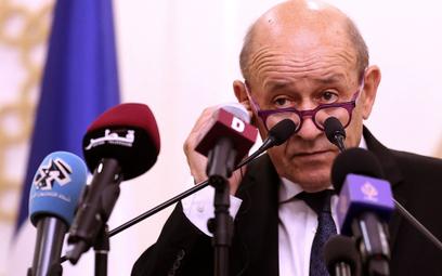 Jean-Yves Le Drian, szef dyplomacji Francji