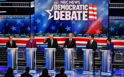 Debata prawyborcza w USA: Wszyscy przeciw Bloombergowi