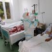 Chorzy na COVID w szpitalu w Rumunii