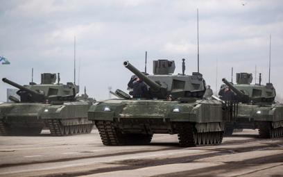 Rosyjska armia odebrała pierwsze czołgi T-14