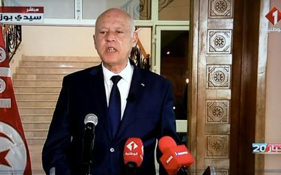 Kais Saied, prezydent Tunezji