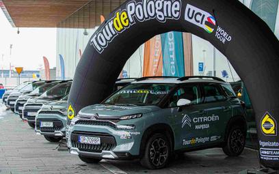 Citroen napędzi Tour de Pologne