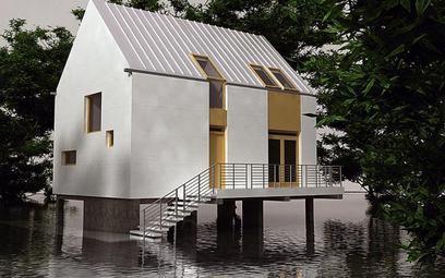Domy na palach dla powodzian