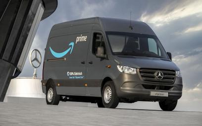 Amazon przesiada się do elektrycznych Mercedesów
