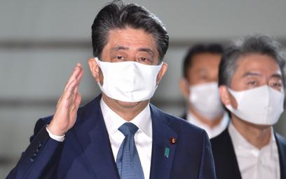 Premier Japonii Shinzo Abe ogłosił, że odchodzi