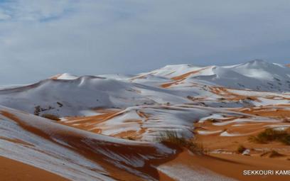 Sahara przykryta śniegiem