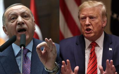 Trump i Erdogan rozmawiali o sytuacji w Syrii