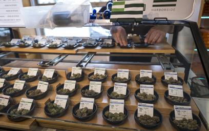 W Kalifornii marihuana jest legalna i dostępna w wyznaczonych sklepach