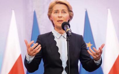Ursula von der Leyen, przewodnicząca KE, zleciła pilne analizy możliwych kroków wobec Polski