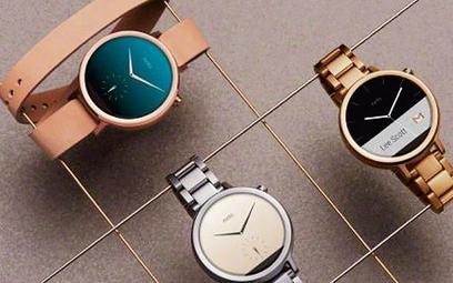 Moto 360 to inteligentne zegarki specjalnie dla kobiet