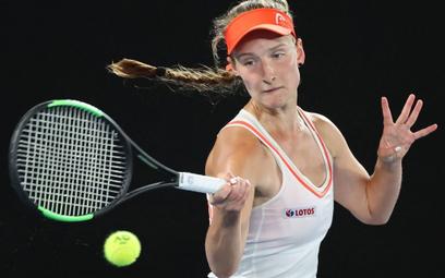 Weronika Baszak wygrała pierwszego seta, ale później musiała uznać wyższość rywalki