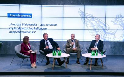 Paneliści szukali kompromisu w sprawie działań dotyczących Puszczy Białowieskiej.