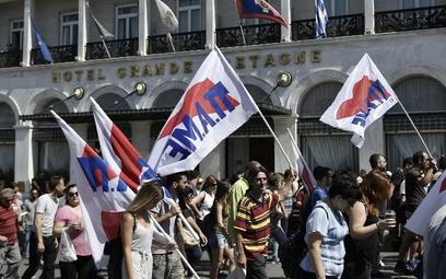 Pracownicy greckich hoteli protestują