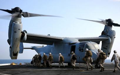 Samolot pionowego startu i lądowania Bell/Boeing MV-22B Osprey. Fot./USMC.