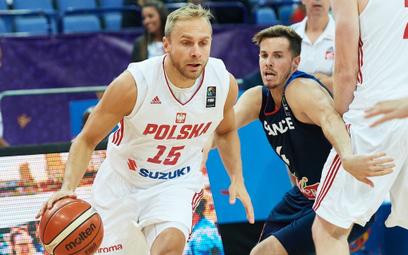 Łukasz Koszarek rzucił dla polskiej reprezentacji 10 punktów.