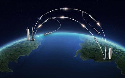 Nowy system globalnego transportu Us Air Force. Rakiety cargo
