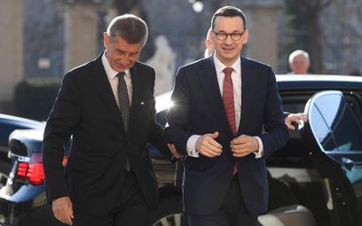 Morawiecki odwołał wyjazd na Węgry. Nie chce się spotkać z premierem Czech