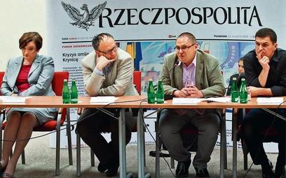 """Debata Klubu Ekspertów """"Rz"""""""