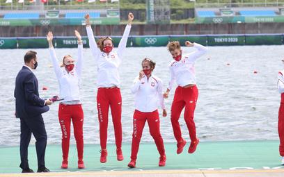 Pierwszy polski medal w Tokio. Srebro czwórki podwójnej kobiet