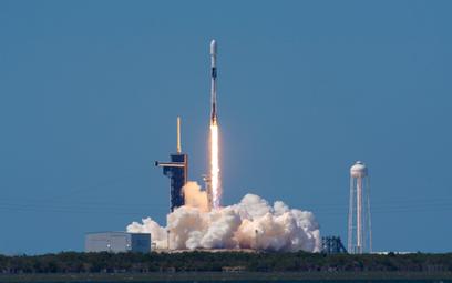 Start rakiety nośnej Falcon 9. Fot./SpaceX.