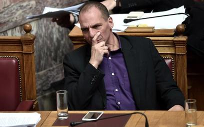 Środkowy palec greckiego ministra