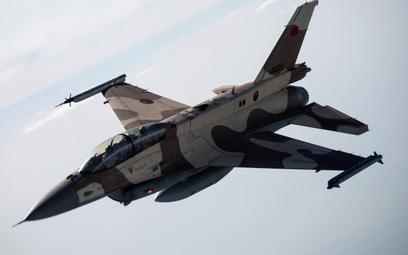 Marokański wielozadaniowy samolot bojowy F-16D Fighting Falcon Block 52+ Advanced. Fot. / Lockheed M