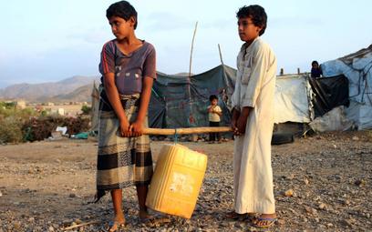 Jemen. Tam gdzie panuje głód i trwa wojna, epidemia jest mniejszym problemem