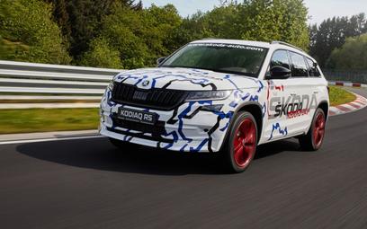Skoda Kodiaq RS: SUV Skody bije rekord na torze