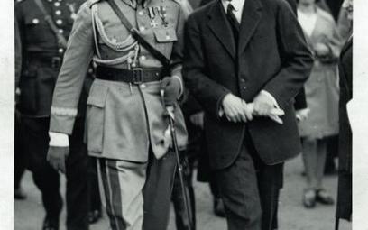 Kazimierz Świtalski w rozmowie z Józefem Piłsudskim