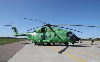 Wielozadaniowy śmigłowiec transportowy Mi-38T. Fot./Rosoboroneksport.