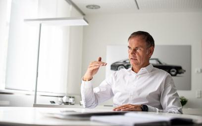 Oliver Blume, dyr. generalny Porsche AG: Polska i tym razem dała sobie radę
