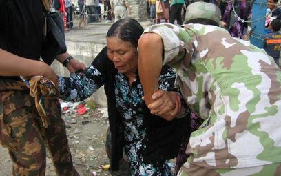 Część Uzbeków uciekła z Kirgizji