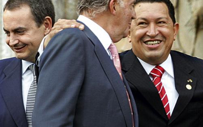 Król strofuje Chaveza