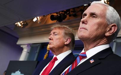 Wiceprezydent USA nie jest zakażony koronawirusem