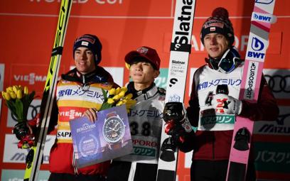 PŚ w Sapporo: Wygrał Sato, seria Kubackiego trwa