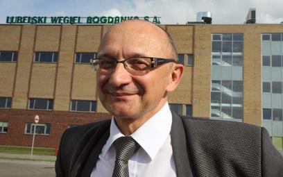 Mirosław Taras, prezes Lubelskiego Węgla Bogdanka