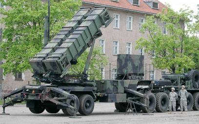 Zestaw Patriot w bazie wojskowej w Morągu w 2010 r.
