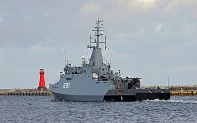 Niszczyciel min projektu 258 Kormoran II. Fot,/Remontowa Shipbuilding