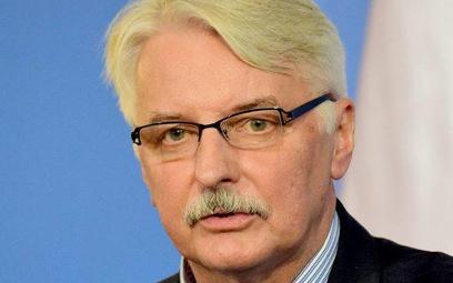 MSZ kierowane przez Witolda Waszczykowskiego nie odpowiada, czy gotowe jest wznowić konsultacje w sp