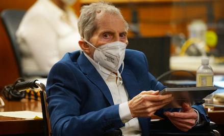 Robert Durst uznany winnym zamordowania przyjaciółki
