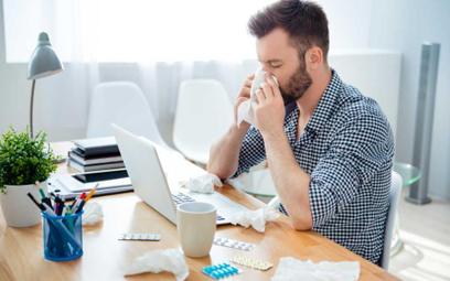 Jeśli musisz, to pracuj zdalnie i nie przynoś grypy do biura