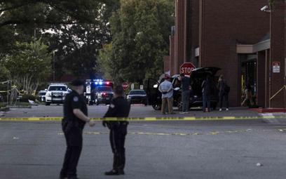 Policja na miejscu strzelaniny w Tennessee