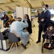 Testy na COVID pasażerów na lotnisku Ben Guriona