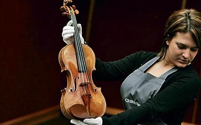Takie skrzypce są warte od 1 do nawet 5 mln euro. Na zdjęciu instrument z 1707 roku