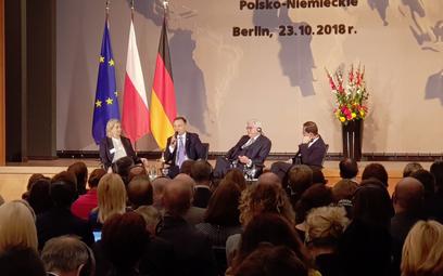 Andrzej Duda i Frank-Walter Steinmeier na Forum Polsko-Niemieckim w Berlinie