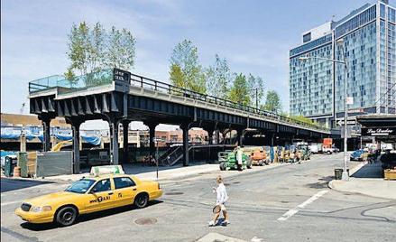 High Line – park w Nowym Jorku na wiadukcie kolejki